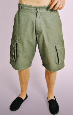 Loose Fit Cargo Shorts